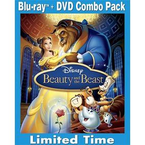 3 Dvd /blu-ray Disc Combo Pack A Bela E A Fera Disney