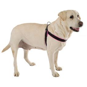 Peitoral Ferplast Agila Fluo Para Cães Rosa E Preto - 6 (cin