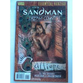 Hq-essential Vertigo:sandman:#17:dream Country:importado:dc
