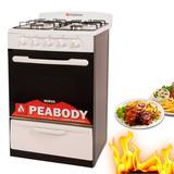 Cocina A Gas Classica 56 Peabody 4 Hornallas Easy Clean *10