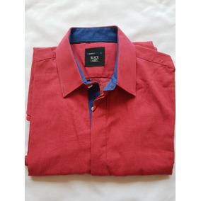 Camisa Roja Rosa Con Forro Azul Juvenil Moda Lmental Chica S