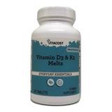 Vitamina K2 Mk7 Sublingual D3 Com 60 Cps Importado Lacrado