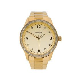Reloj Dorado + Envio Gratis