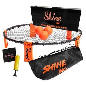 Shine 360 Kit Con Mochila 3 Pelotas Juego Deporte Me Full