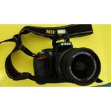 Vende Cámara Nikon Vr D5200 18-55 Vr Ii Kit , Lente, Batería