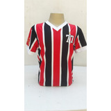 Camiseta Retrô São Paulo Brasileiro 77 - Torcida Retrô