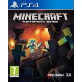 Minecraft Ps4 Digital 1º Jugas Con Tu User