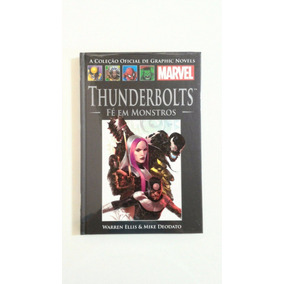 Col Graphic Novels - Thunderbolts Fé Em Monstros