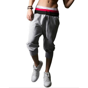 Harem Shorts Pants Bermudas Jogger Algodón Moda Japonesa