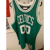 Camiseta Uniforme Nba Boston Celtics Robert Parish Autografo