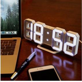 Relogio Digital Despertador De Mesa Fala A Hora Em
