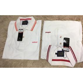 cbbfe337e8 Camisa Polo Colcci Branca Desenhos - Calçados
