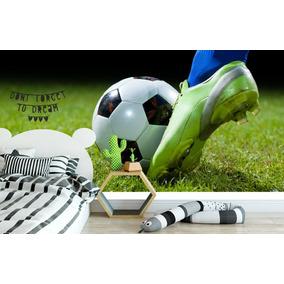Adesivo Autocolante Futebol Painel Quarto Infantil Gol Bola 367b81688aba5
