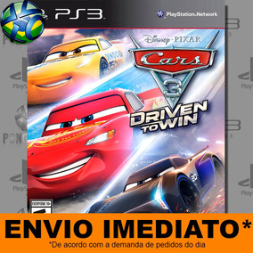 Jogo Ps3 Carros 3 - Cars 3 Driven To Win Digital Código Psn