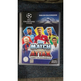 Match Attax Trading Card Game Uefa Champions League 16/17.