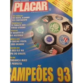 Revista Placar Edição Dos Campeões 1993 Completa Posters