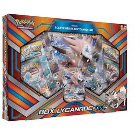 Cartas Pokémon Box Lycanroc-gx Sl2 - Copag - 9747-4