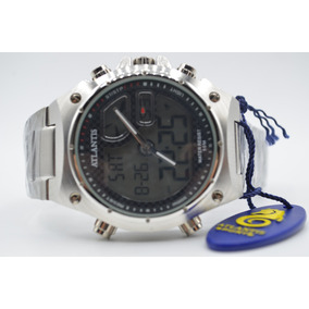 1e9927c12ee Relogio Masculino Atlantis Em Aço Caixa 50mm Pulso - Relógios De ...