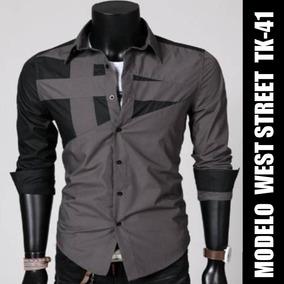 Camisa Social Slim Fit Importada Só R  39 d8c8ce3b40586