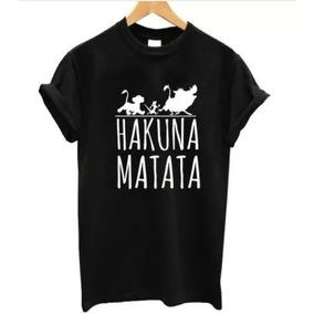 82ebcd267 Camiseta Camisa Baby Look Hakuna Matata Pumba Maga Curta