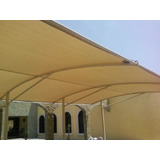 Malla Sombra Beige 90% Protección Solar