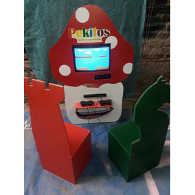 Juego Electronico Arcade Tematico Infantil