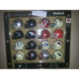 16 Cascos Nfl Riddell Coleccionables