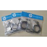 Cable De Seguridad Laptop O Desktop Hp 1.8 Metros.