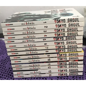 Mangá Tokyo Ghoul 1 Ao 14 Completo