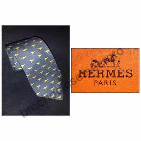 db8e46aa9b411 Gravata Hermes Original - Gravatas Clássicas Masculino no Mercado ...