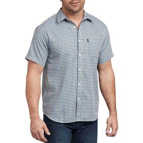 Camisa Dickies Cuadros Azul Ws530 Rxlg