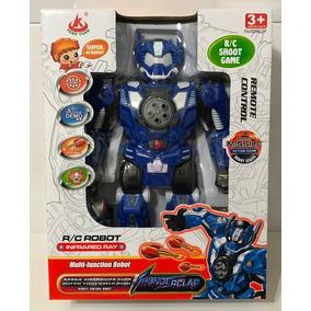 Robot Thunderclar Lanza Misiles A Control Remoto 28137