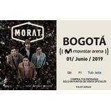 Boletas (2) Concierto Morat- Bogotá- 1 De Junio.