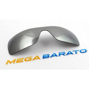 Oculos Oakley Batwolf Cinza Metalico De Sol - Óculos no Mercado ... e12831a259