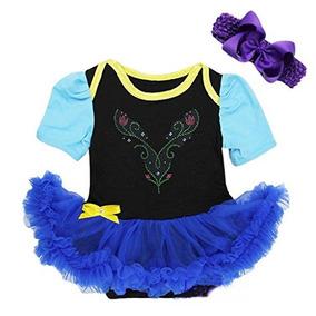 Bebe Anna Princesa Negro Royal Blue Body Tutu Traje Mediano 138b94e1fb9