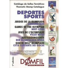Catálogo Domfil Temático Jogos Olímpicos - Usado