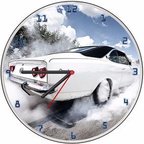 1a25664cb31 Relógio Parede Decorativo Sala Cozinha Vintage Opala Branco