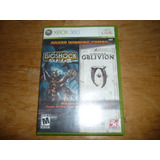 Bioshock Y The Elder Scrolls Lv Oblivion Para Xbox 360
