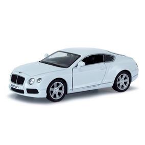 Miniatura Bentley Continental Gt V8 Branco Sm Fx 1/32