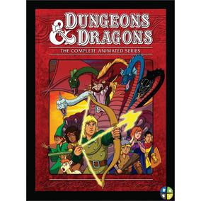Quadro Poster Caverna Do Dragão D&d Com Moldura A3