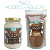 Pack Un Aceite De Coco 500ml Y Un Azúcar De Coco 500gr Biov