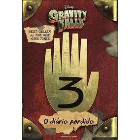 Livro Diário Perdido De Gravity Falls / Díario Dipper 3