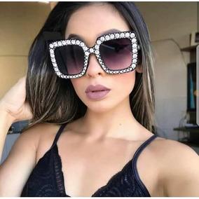 30f97ef07d60b Oculos De Sol Gucci Feminino 0061 - Óculos no Mercado Livre Brasil