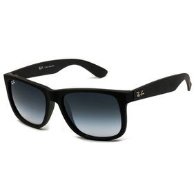 Óculos De Sol Masculino Polarizado Justin Preto Quadrado Uv