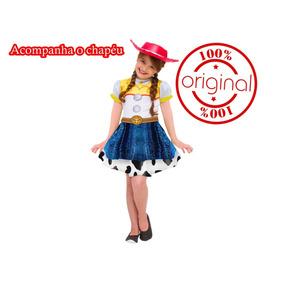 Fantasia Jessie Toy Story 3 Disney Vestido Envio Imediato!