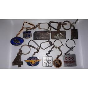 Chaveiros Colecionáveis De Metal (lote)