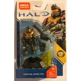 Mega Construx Halo Serie 9 Spartan Jorge-052 Nuevo Sellado