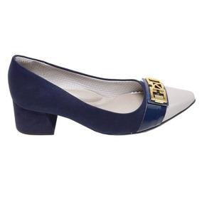 baecc8a0f Ws554 Sapato Scarpin Salto Baixo Piccadilly - Sapatos no Mercado ...