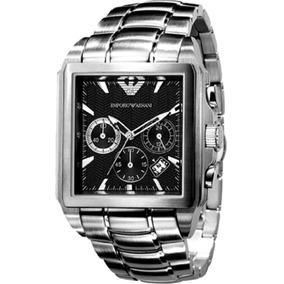 c35fd6aee85 Relógio Empório Armani Preto Ar 0659 - Relógios De Pulso no Mercado ...
