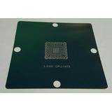 Stencil Cpu N475 De 80x80 0.5mm, Q4kt Slbx5